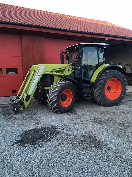 CLAAS Arion 550 Cmatic, Traktorer, Landbruk