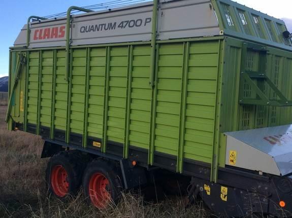 CLAAS Quantum 4700 P, Universalvogner, Landbruk