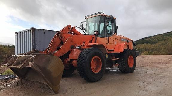 Doosan DL250, Wheel Loaders, Construction Equipment