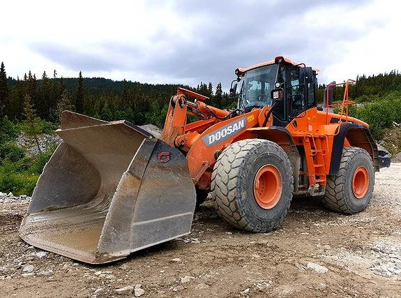 Doosan DL420-3, Wheel Loaders, Construction Equipment