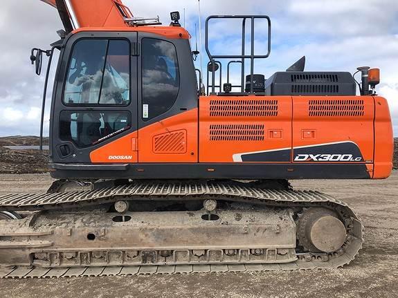 Doosan DX 300 LC, Crawler Excavators, Construction Equipment