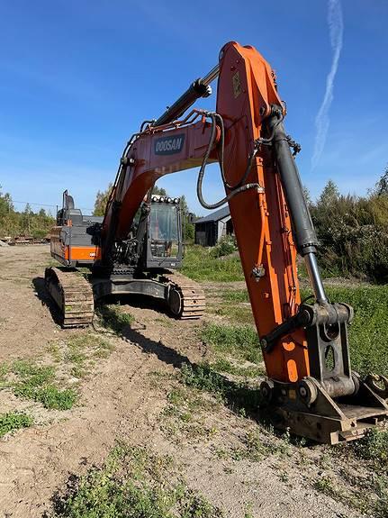 Doosan DX 380LC-5, Crawler Excavators, Construction Equipment