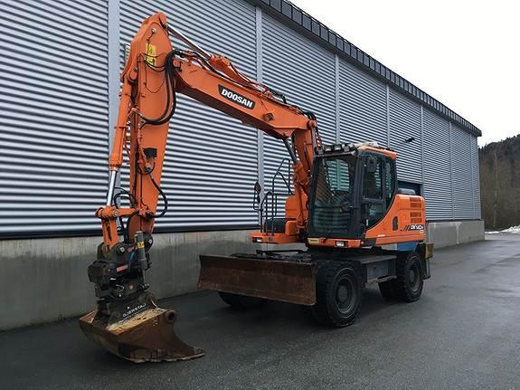 Doosan DX140W-3, Crawler Excavators, Construction Equipment