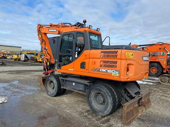 Doosan DX160W-3, Crawler Excavators, Construction Equipment
