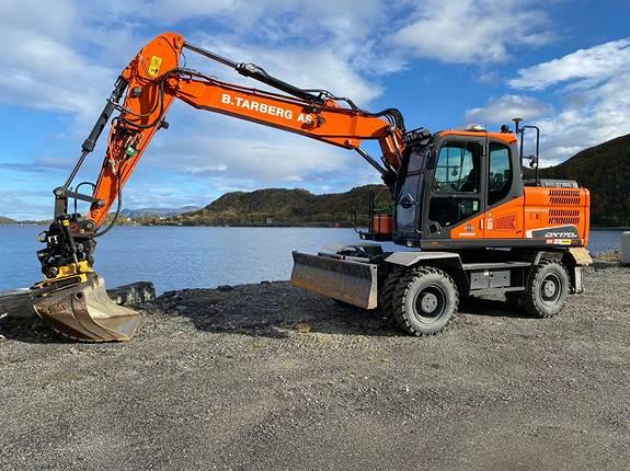 Doosan DX170W-5, Crawler Excavators, Construction Equipment