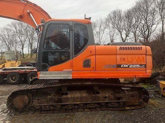 Doosan DX225LC-3, Crawler Excavators, Construction Equipment