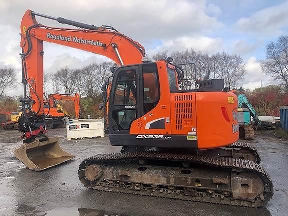 Doosan DX235LCR-5, Crawler Excavators, Construction Equipment