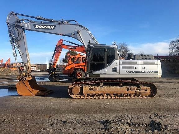 Doosan DX300LC, Crawler Excavators, Construction Equipment