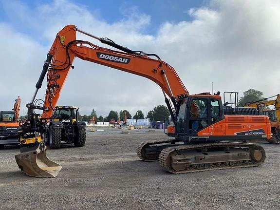 Doosan DX300LC-5 m/GPS, Crawler Excavators, Construction Equipment