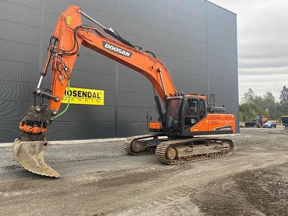 Doosan DX300LC-5 m/GPS og rototilt, Crawler Excavators, Construction Equipment
