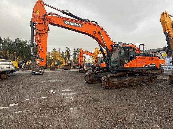 Doosan DX380LC-5, Crawler Excavators, Construction Equipment