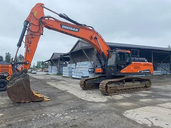 Doosan DX380LC-5, Crawler Excavators, Construction Equipment