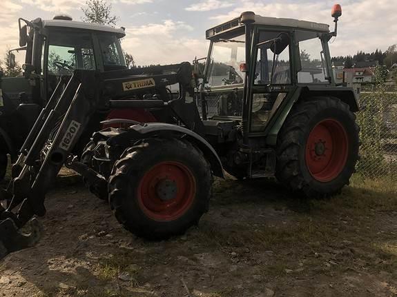 Fendt 380GTA, Traktorer, Landbruk