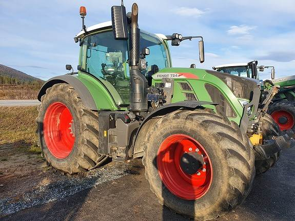 Fendt 724 Profi Plus, Traktorer, Landbruk