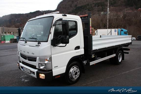 Fuso CANTER, Tippbil, Transport