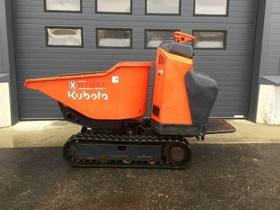 Kubota KC110HR-4, Mini dumpere, Anlegg
