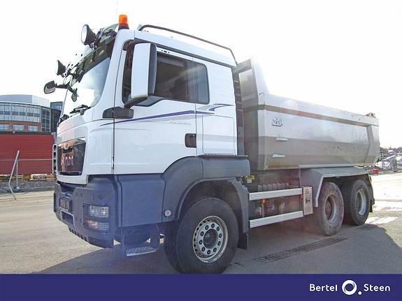 MAN TGS 26.540, Tippbil, Transport