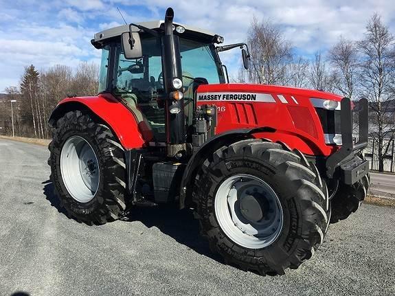 Massey Ferguson 7616 D6 Efficient, Traktorer, Landbruk