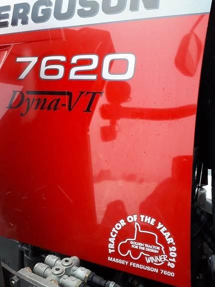 Massey Ferguson 7620 DYNA VT, Traktorer, Landbruk