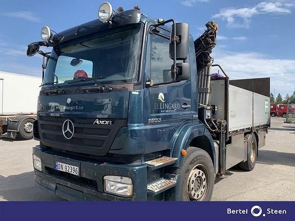 Mercedes-Benz 1833K/36AT, Kranbil, Transport