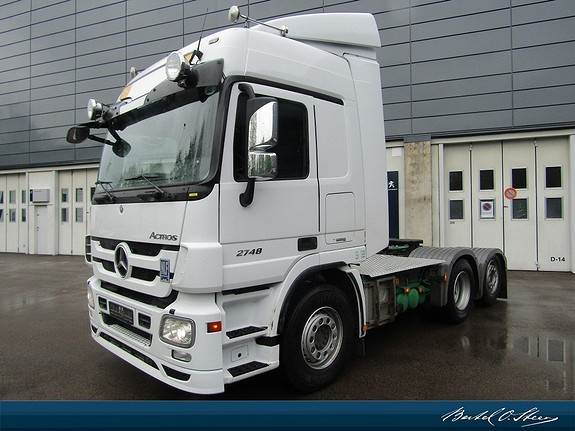Mercedes-Benz 2548L/33 6x2 hydrolikk, Trekkvogner, Transport