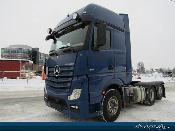Mercedes-Benz 2551L/34 6x2, Trekkvogner, Transport