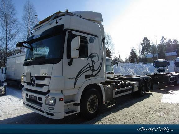 Mercedes-Benz 2555L ACTROS, Containerbil, Transport