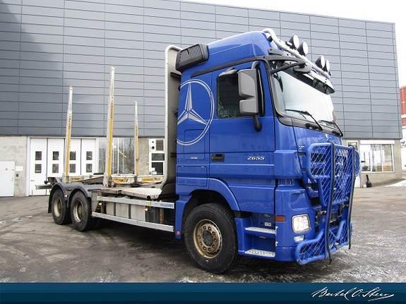 Mercedes-Benz 2655L/45 6X4M, Andre lastebiler, Transport