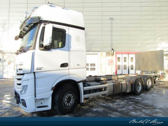 Mercedes-Benz ACTROS, Containerbil, Transport