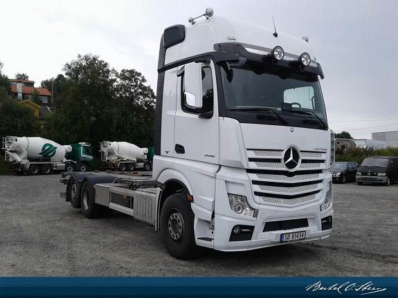 Mercedes-Benz ACTROS, Containerbil, Transport