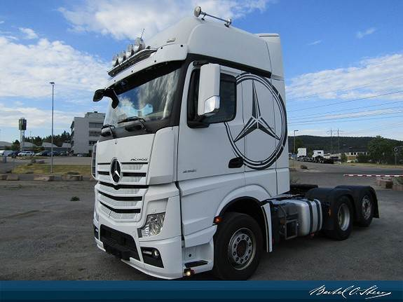 Mercedes-Benz ACTROS, Trekkvogner, Transport