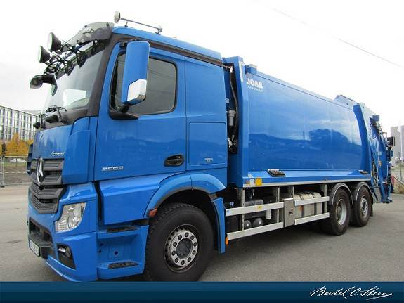 Mercedes-Benz ACTROS, Andre lastebiler, Transport