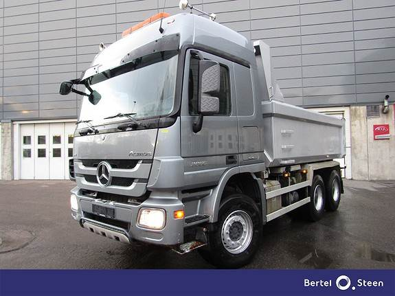 Mercedes-Benz ACTROS, Tippbil, Transport