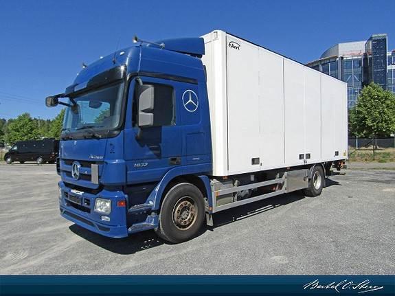 Mercedes-Benz ACTROS 1832L/57 4x2 Sideåpning, Skapbiler, Transport