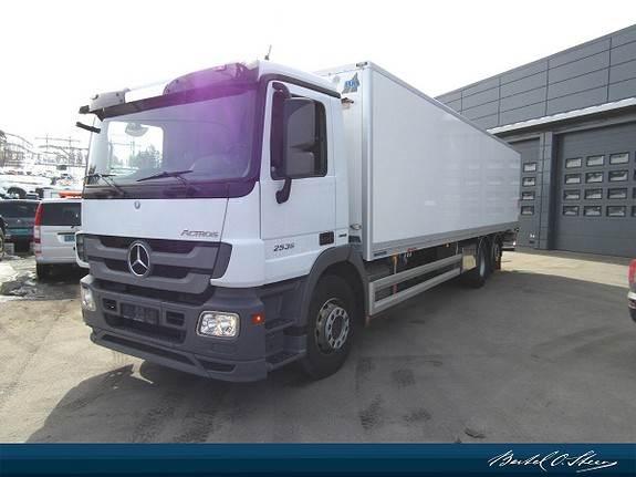 Mercedes-Benz ACTROS 2536L/63 6x2 24 paller skap, Skapbiler, Transport