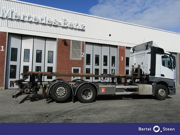 Mercedes-Benz ACTROS 2548L Rangeringsbil, Containerbil, Transport