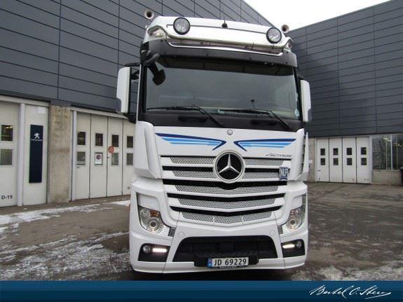 Mercedes-Benz ACTROS 2551L, Trekkvogner, Transport