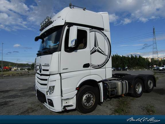 Mercedes-Benz ACTROS 2551L/34 6x2, Trekkvogner, Transport