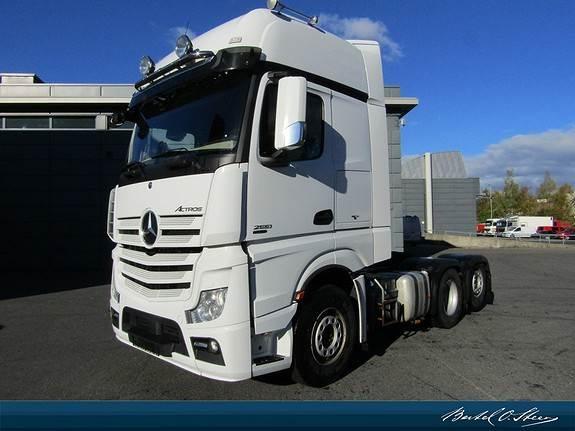 Mercedes-Benz ACTROS 2551L/32, Trekkvogner, Transport