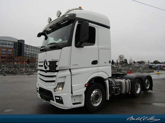 Mercedes-Benz ACTROS 2551L/32 6x2 ADR, Trekkvogner, Transport