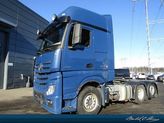 Mercedes-Benz ACTROS 2551L/34, Trekkvogner, Transport