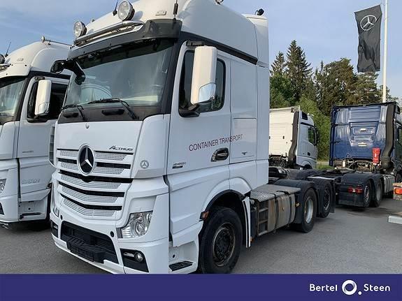 Mercedes-Benz ACTROS 2551L/34 solo star, Trekkvogner, Transport