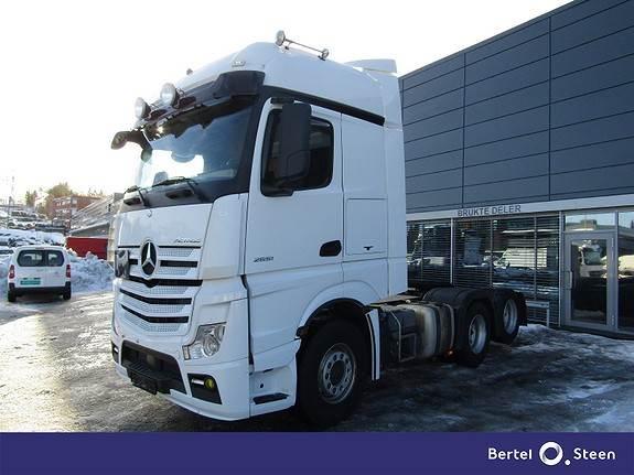 Mercedes-Benz ACTROS 2551L/32 DNA, Trekkvogner, Transport