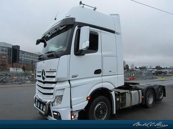 Mercedes-Benz ACTROS 2551LS, Trekkvogner, Transport