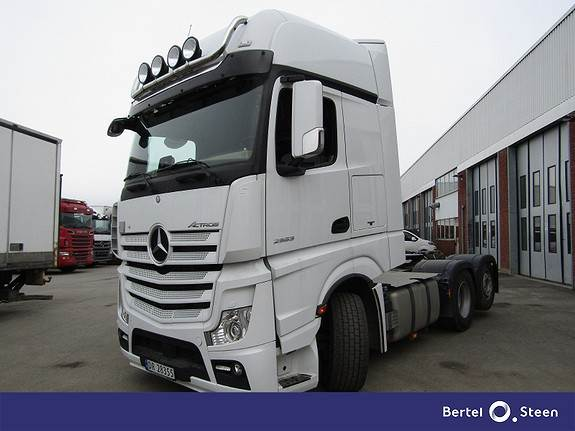 Mercedes-Benz ACTROS 2553L/34, Trekkvogner, Transport
