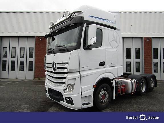 Mercedes-Benz ACTROS 2553L/34 Helluft, Trekkvogner, Transport
