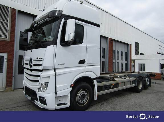 Mercedes-Benz ACTROS 2553L/49, Containerbil, Transport
