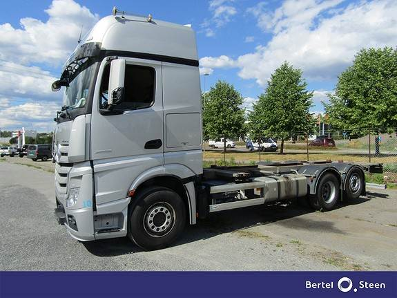 Mercedes-Benz ACTROS 2553L/49 EURO 6, Containerbil, Transport