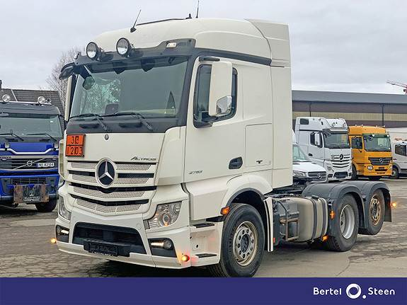 Mercedes-Benz Actros 2553LS, Euro 6, ADR, se video, Trekkvogner, Transport