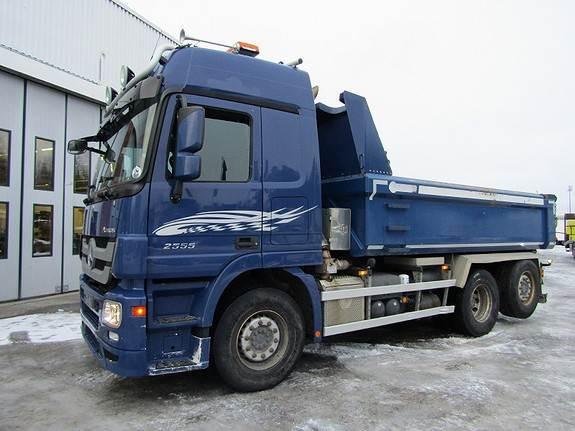 Mercedes-Benz ACTROS 2555L/39 6X2M, Tippbil, Transport